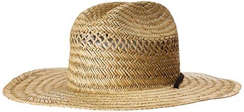 7e045909354 Volcom Men s Hellican Straw Lifeguard Beach Sun Hat