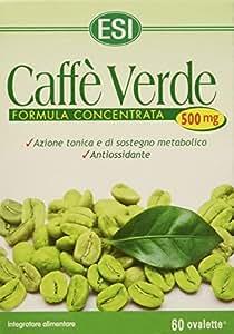 Esi Caffe' Verde 500 Mg Integratore Alimentare - 60 Ovalette