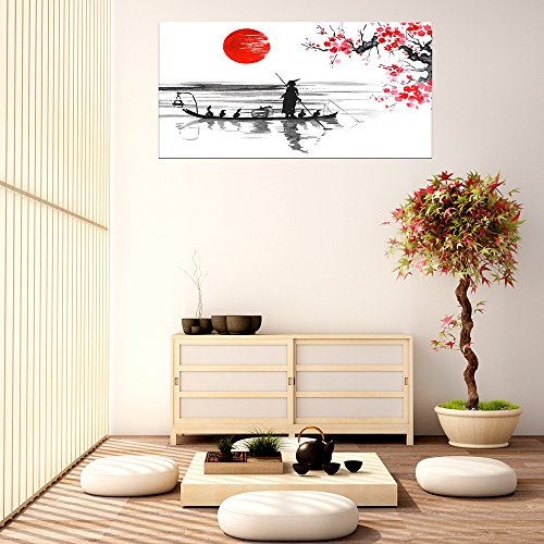 Cuadro PVC Japón | Varias Medidas 150 x 60 cm | Fácil