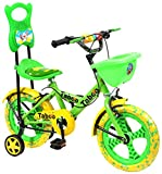 #4: Taboo TCA-14 Green & Yellow Kid's Cycle (ASSEMBLY REQUIRED)