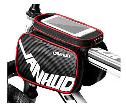 Bike Bag Bunte Fahrrad Lenker Pakete für 6 Zoll Telefon Multi-Funktions-Fahrrad-Zubehör#18