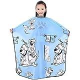 """Capa infantil para corte y lavado, capa impermeable para niños 52""""x37""""/132x94 cm (azul)"""