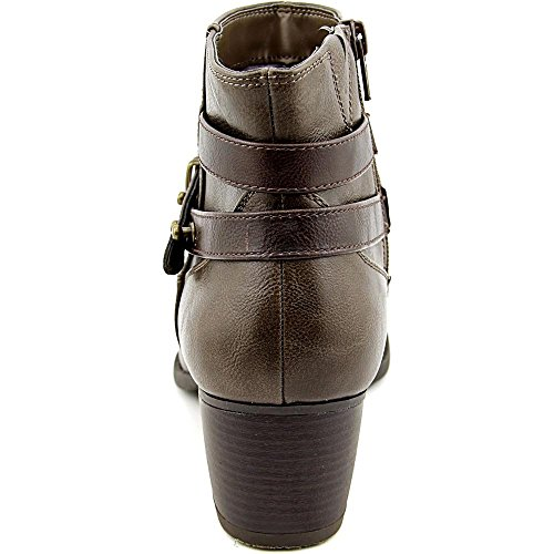 White Mountain Rotary Rund Kunstleder Mode-Stiefeletten Taupe/DarkBrown