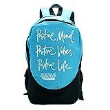 #4: Sara Polyester 25L Blue School Backpack