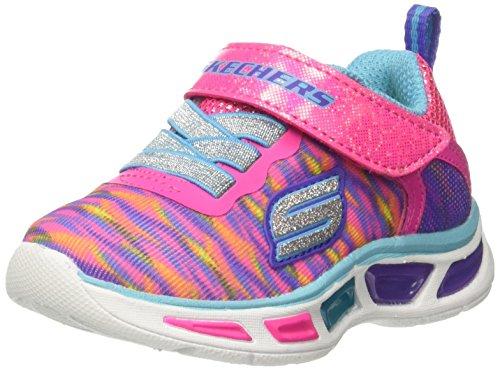 Rosa Pinkmulti Skechers Entrenadores Para Niñas Colorburst Litebeams neon ZvwHX
