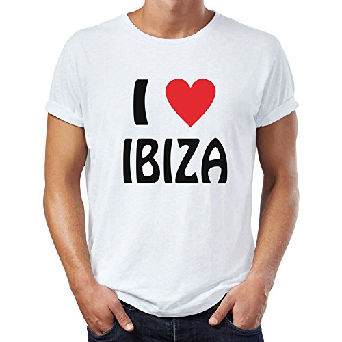I Love Ibiza T-Shirt Men's T-Shirt X-Large for sale  Delivered anywhere in Ireland