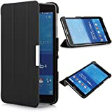 iHarbort - Samsung Galaxy Tab 4 7.0 Funda - ultra delgado ligero Funda de piel de cuerpo entero para Samsung Galaxy Tab 4 7.0 (SM-T230 T231 T235), negro