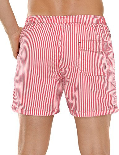 Schiesser Swimshorts - Short de bain - Homme Rouge - Rouge (500)