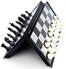 Happy GiftMart Mini Magnetic Travel Chess Set with Folding Board Educational Toys for Kids and Adults Pocket Size