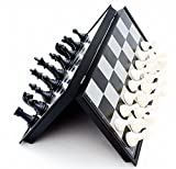 #1: Happy GiftMart Mini Magnetic Travel Chess Set with Folding Board Educational Toys for Kids and Adults Pocket Size