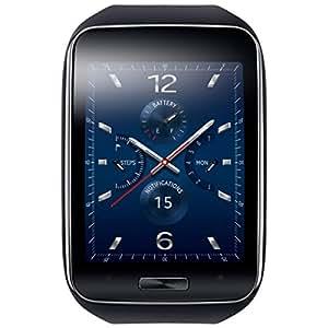 Samsung Gear S Montre GPS Noir/Bleu pour Smartphone