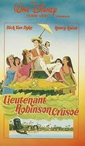 lieutenant robinson crusoe un film de paul byron avec VANDYKE DICK - nancy kwan