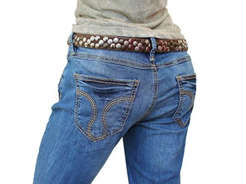 ATT, Amor Trust & Truth -  Jeans  - Taglio straight - Donna cloudy blue / blau