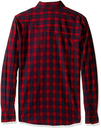 Fulton Flannel L/S Blood Red