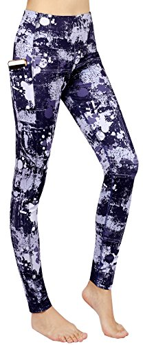Neonysweets-Womens-Printed-Yoga-Pants-High-Waist-Tummy-Control-Workout-Pants-Leggings-With-Pocket