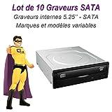 NC56 '10Stück Brenner DVD internen SATA 5,25Philips Sony LG NEC TOSHIBA Plextor PX