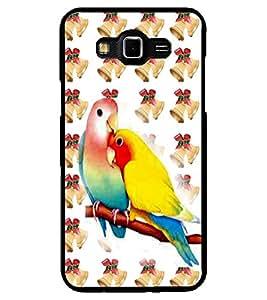 ColourCraft Love Birds Design Back Case Cover for SAMSUNG GALAXY GRAND 3