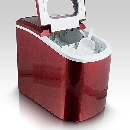 Shopping - Ratgeber 51QafjX846L Eiswürfelbereiter oder Eiswürfelmaschine für heiße Tage