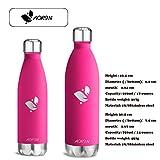 Aorin 500ml Trinkflasche (Rose Red) - 6