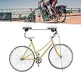 Rollen für Fahrrad decken bis zu 4m Sitzerhöhung für Fahrräder Fahrrad Fahrrad Lift Sitzerhöhung mit dem Schließmechanismus sicher verhindert die Freilassung Accidental Deckenhalterung Halterung Aufhängung Fahrräder Fahrräder Dach mit Rollen und Saiten nl05038