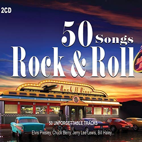 50 Songs Rock and Roll - The Best of Rock and Roll [2CDs] (Chuck Berry Rock And Roll Music)