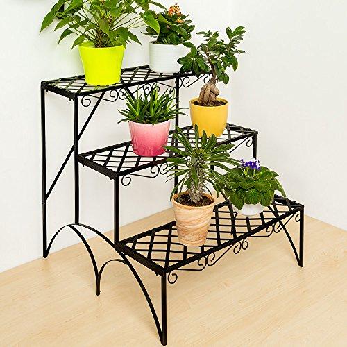 tectake-etagere-de-jardin-pour-plantes-escalier-en-fer-3-niveaux-env-60x60x60cm-charge-max-env-30-kg