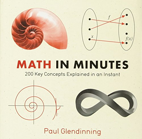 Math in Minutes: 200 Key Concepts Explained In An Instant (Knowledge in a Flash) (Math - Flash In Einem)