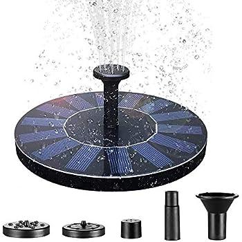 Solarpumpe Wasserbrunnen Gartenteich Springbrunnen Fontäne Pumpe Teichpumpe Neu