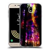 Head Case Designs Offizielle Haroulita Saturn-Blitz Raum Soft Gel Hülle für Samsung Galaxy J5 (2017)