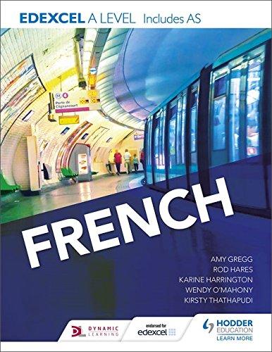 Edexcel A level French (includes AS) (Edexcel a/As French) por Karine Harrington