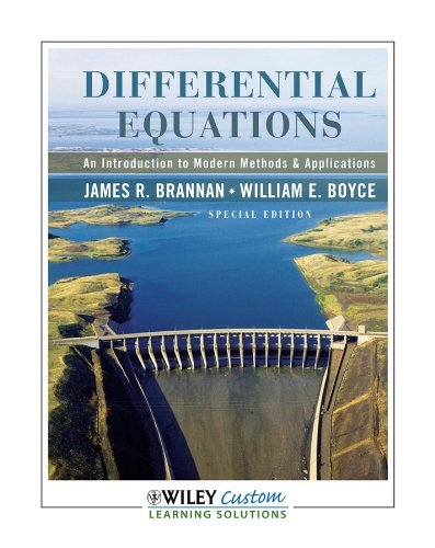 Differential Equations: An Introduction to Modern Methods & Applications