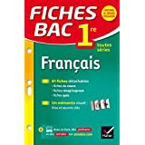 Fiches Bac 1re: Francais 1re Toutes Series by Sophie Saulnier (2015-01-07)