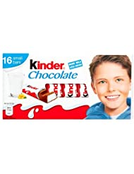 Kinder Chocolate, 16 x 12.5g Bars