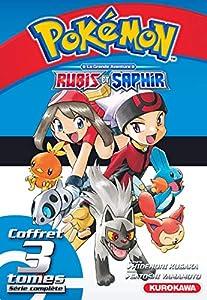 Pokémon Rubis et Saphir Coffret Intégral Tomes 1 à 3