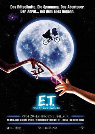Preisvergleich Produktbild E.T., der Ausserirdische: 20jähriges Jubiläum: Teaser (2001) | original Filmplakat, Poster [Din A1, 59 x 84 cm]