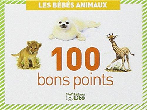 Boîtes de 100 bons points - Les bébés animaux - Dès 5 ans par Lito