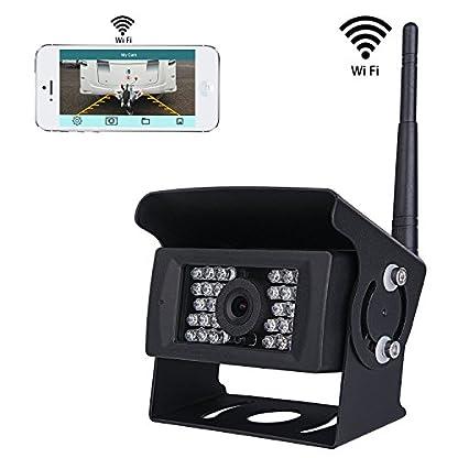 Wifi-Wireless-Rckfahrkamera-CCTV-System-36V-bis-12V-IP69-Wasserdicht-Super-Night-Vision-28-IRs-leuchtet-Rckfahrkamera-mit-Backup-Linie-Monitor-Kit-kompatibel-mit-iPhone-iPad-und-Android
