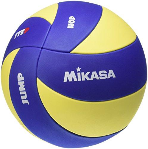 Preisvergleich Produktbild Mikasa Unisex - Kinder Volleyball MVA 123 SL,  blau - gelb,  65 – 67 cm
