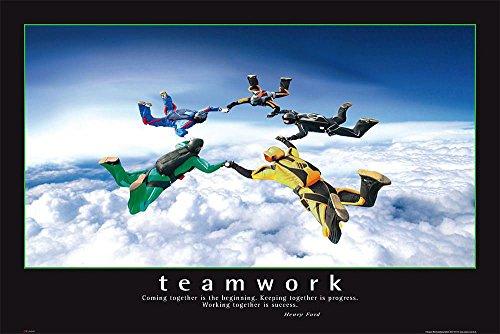Póster Teamwork/Trabajo grupo