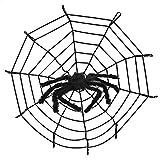 Spinnen Halloween Deko, Saienfeng 50CM Spinne 3.2M Spinnennetz Halloween Party Dekoration Haunted House Prop
