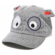 Koly Bebé Sombreros y gorras, Bebé Niños Sombrero de béisbol de Perro, raya de color