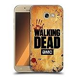 Head Case Designs Offizielle AMC The Walking Dead Aufgeschobert Logo Ruckseite Hülle für Samsung Galaxy A5 (2017)