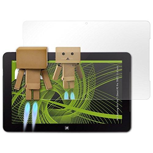 atFolix Displayfolie für Samsung Ativ Tab 7 (Smart PC Pro 700T) 11.6 Inch Spiegelfolie, Spiegeleffekt FX Schutzfolie (Samsung Ativ Pc Pro)
