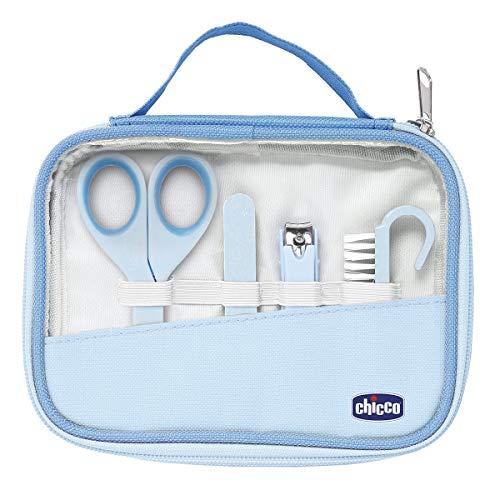 Chicco 00010019000000 Igiene e Benessere Set Manicure Bambino Blu