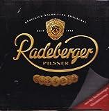 Radeberger - Untersetzer aus Glas - 9cm im Durchmesser - Neu