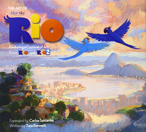 ART OF RIO CARNIVAL OF ART FROM RIO & RIO 02 HC (Rio & Rio 2 Films)