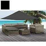 Tenda parasole resistente all'acqua 5 m x 5 m x 5 m, per patio, veranda, giardino.
