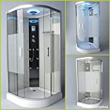 Troni Technology Corner Shower Enclosure Glass Shower Shower Temple Complete Shower S090XH1HG02 90x90