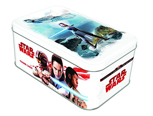 Force Attax sw178 Star Wars Episode VIII. – Box Metall + Karten (Han Solo Laser)