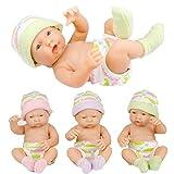 AmaMary 9,5 Zoll Puppe Baby, 1 Stücke Nette lebensechte Baby Junge Geboren Puppe für Kinder Mädchen Puppe Geschenk Farbe Zufällig